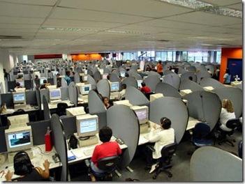 ATENTO2460 S12 SP 09.03.2006 ECONOMIA -- Trabalho de telemarketing na empresa Atento -- FOTO DIVULGAÇAO