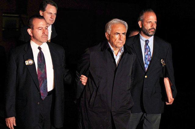 Dominique Strauss Kahn Perp Walk