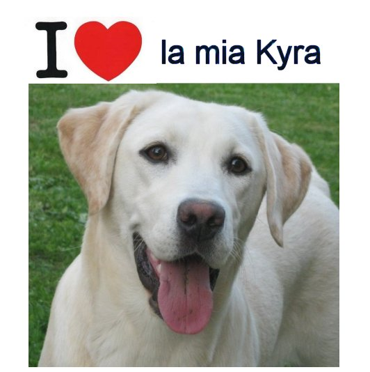 I love la mia Kyra