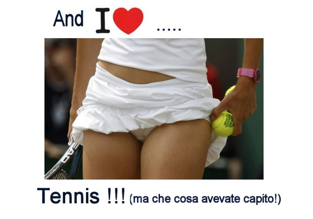 I love tennis